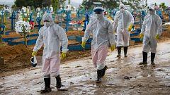 Brasil supera los 250.000 muertos y los 10 millones de casos tras un año de pandemia