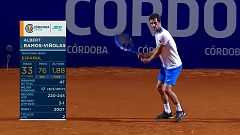 Tenis - ATP 250 Torneo Córdoba. 1/4 Final: D. Schwartzman - A. Ramos-Viñolas