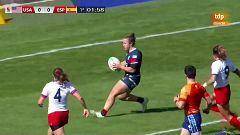 Rugby - Torneo internacional Sevens (femenino): USA - España
