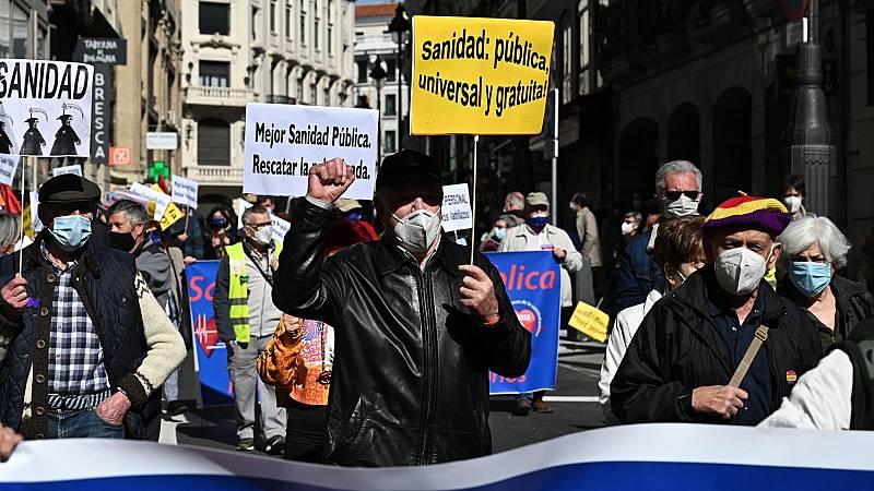 Concentraciones en toda España contra la privatización de la sanidad