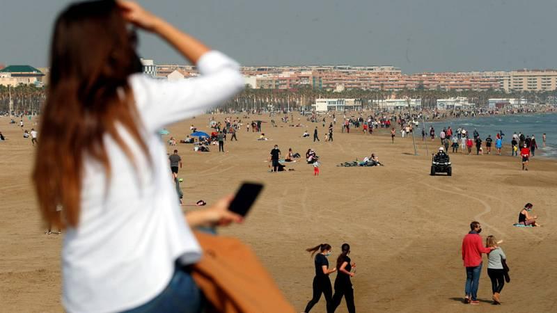 Cielos poco nubosos en la mayor parte de la Península y Baleares