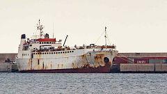 900 terneros, retenidos en un buque en Cartagena ante la sospecha de estar enfermos