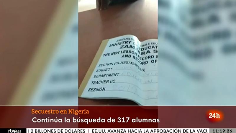 Sigue la búsqueda de las 317 niñas secuestradas en una escuela de Nigeria