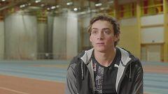 Atletismo - Salto de pértiga, reportaje Armand Duplantis