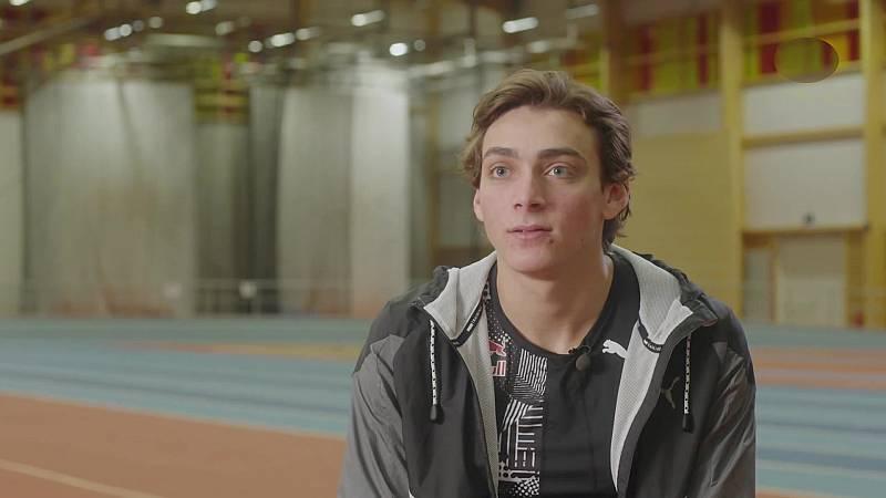 Atletismo - Salto de pértiga, reportaje Armand Duplantis - ver ahora