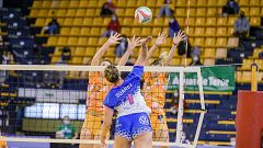 Copa de la Reina de voleibol:  CV CCO 7 Palmas - Sanaya Libby's La Laguna (semifinal)