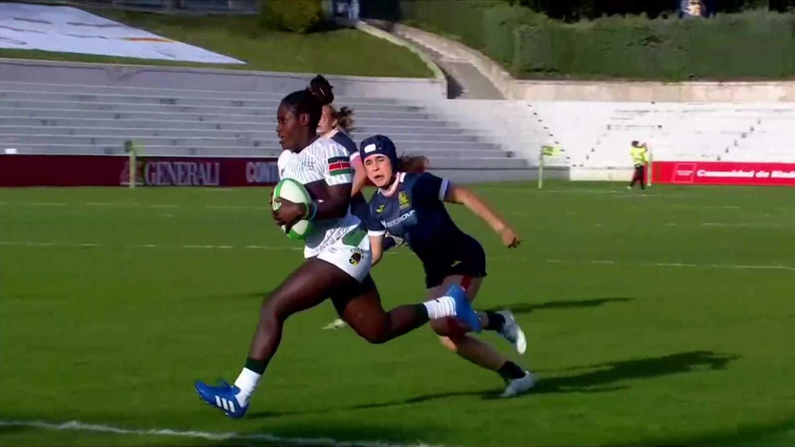Rugby - Torneo internacional Sevens (femenino): España - Kenya - ver ahora