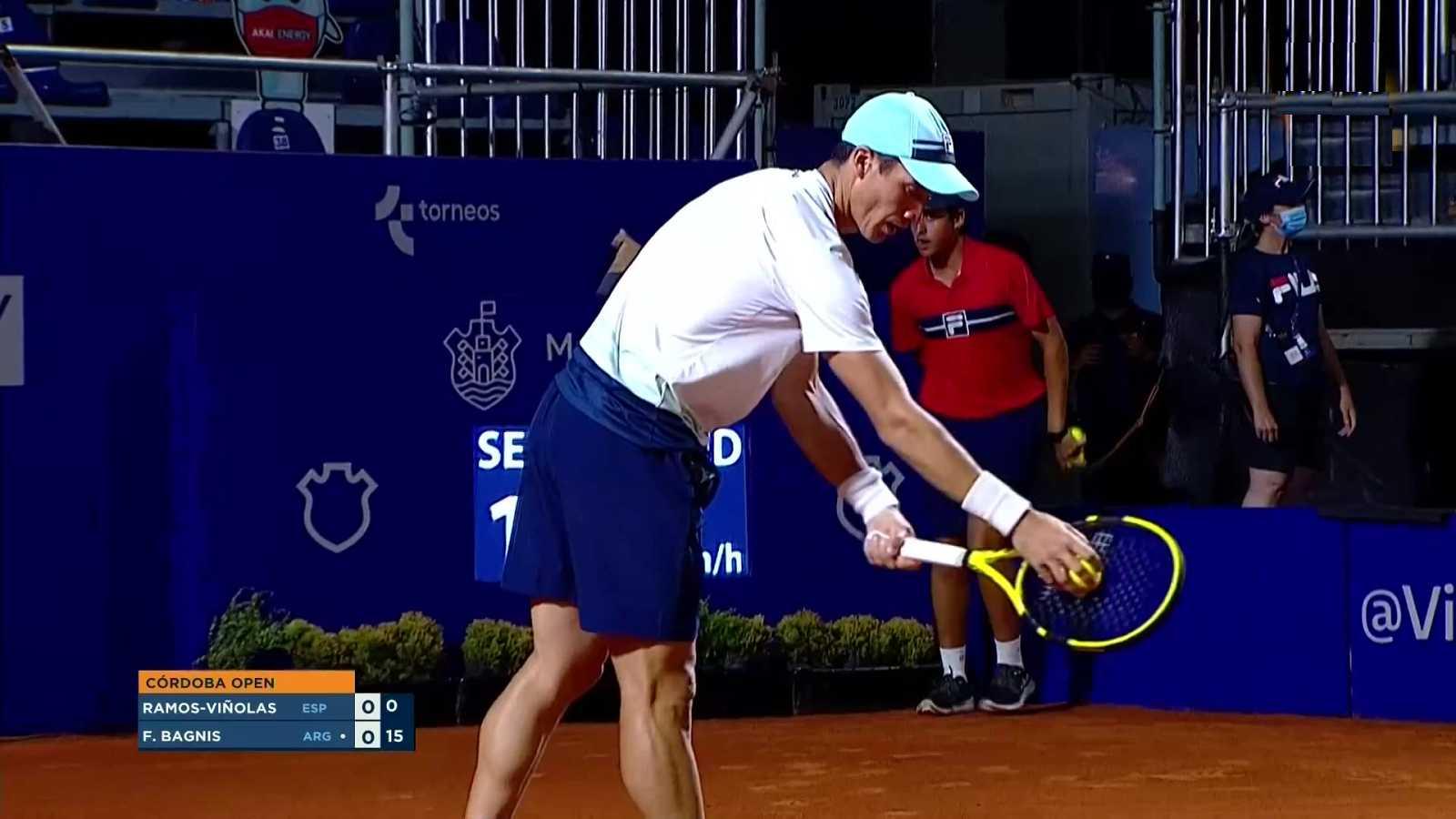Tenis - ATP 250 Torneo Córdoba. 2ª Semifinal: A. Ramos - F. Bagnis - ver ahora