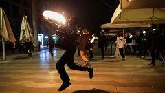 Los principales líderes políticos rechazan los actos violentos en Barcelona