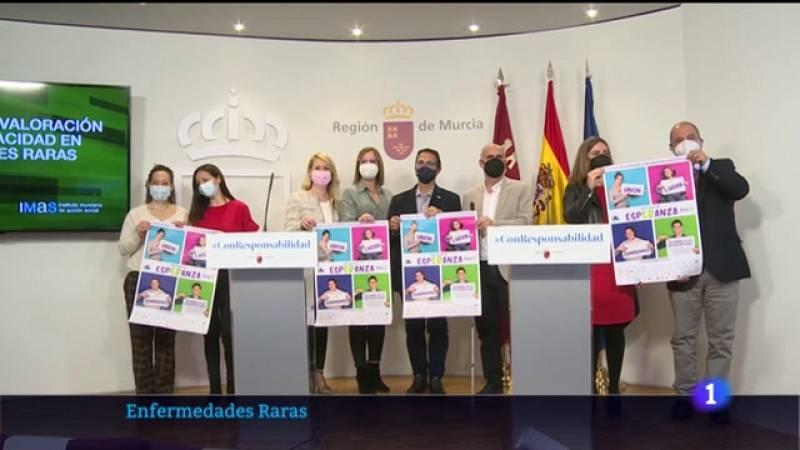 Noticia sobre la nueva guía sobre enfermedades raras en la Región de Murcia