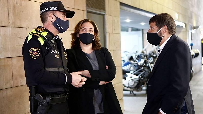 La mayoría de los partidos condenan la violencia en Barcelona