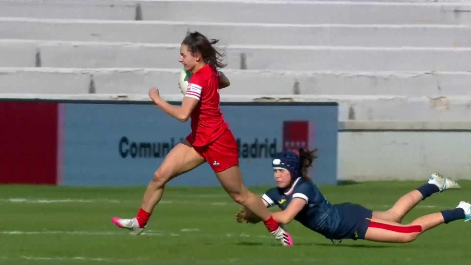 Rugby - Torneo  Sevens (femenino): 3º y 4º puesto - ver ahora