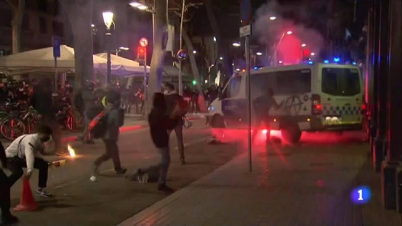 Nova nit d'actes violents a Barcelona