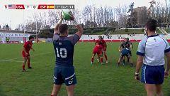 Rugby - Torneo internacional Sevens (masculino) 3º y 4º puesto: USA - España