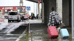 Dificultades y retrasos en la frontera de España con Portugal por las restricciones por la COVID-19