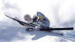 Accidentada jornada en la Copa del Mundo de Esquí