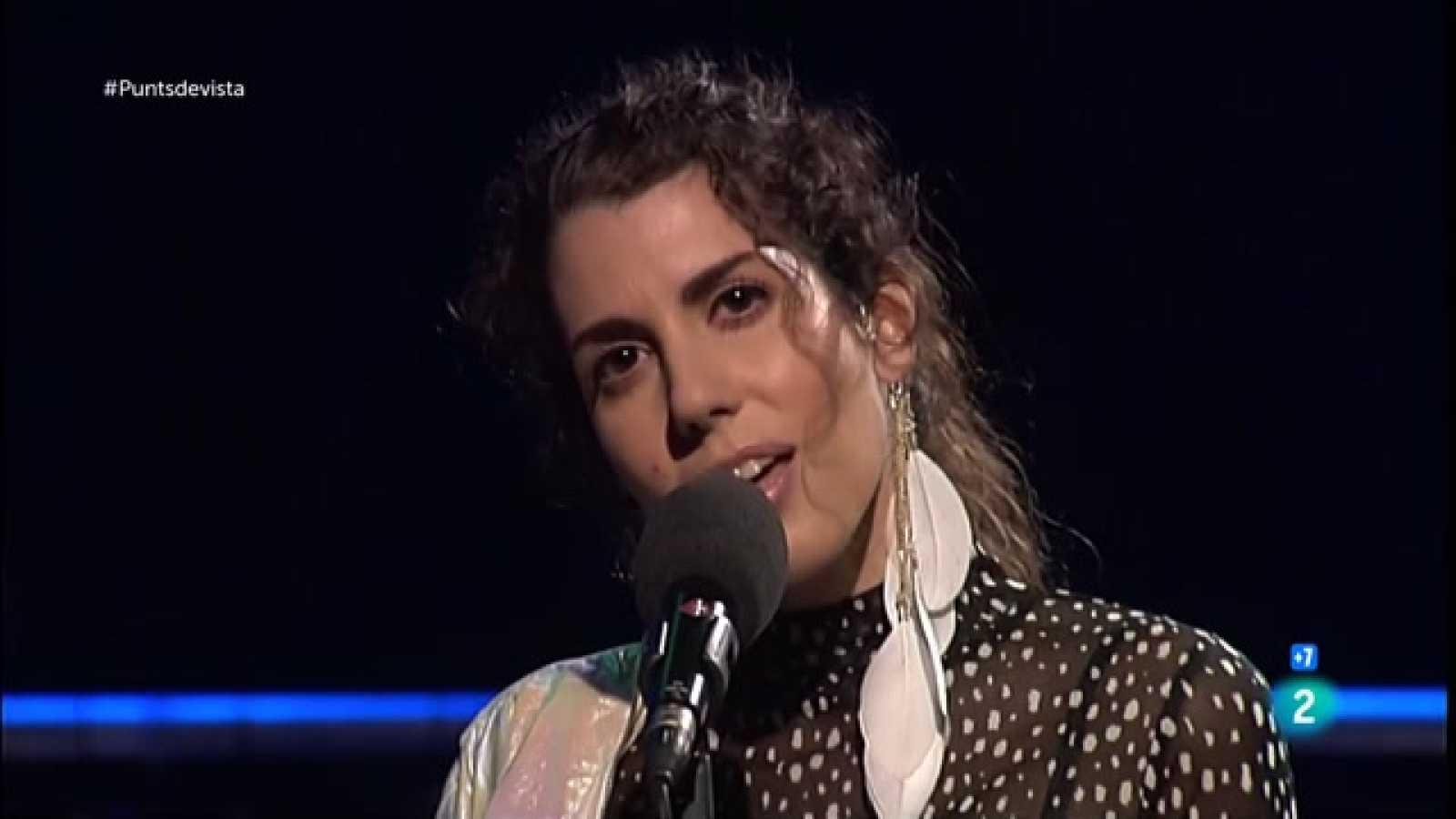 Actuació Cristina Malakhai a Punts de vista