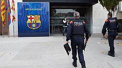 Los Mossos registran las oficinas del Barça