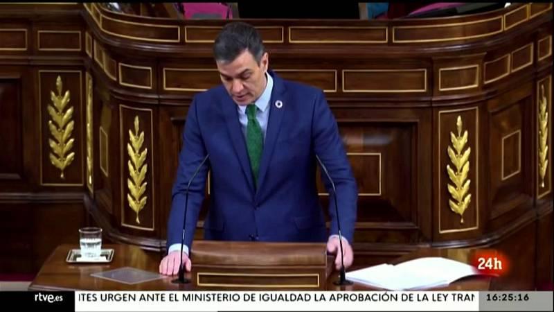 Parlamento - El foco parlamentario - Pedro Sánchez comparece por el estado de alarma - 27/02/2021