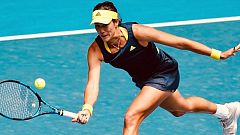 Garbiñe Muguruza supera a Kudermetova en su debut en Catar