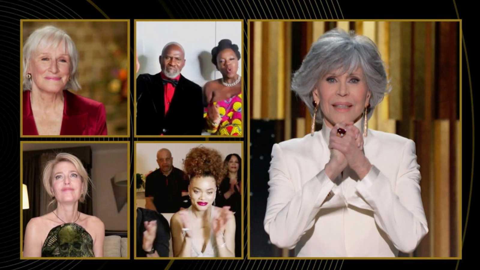 Los Globos de Oro más extraños: dos platós diferentes y premiados telemáticos