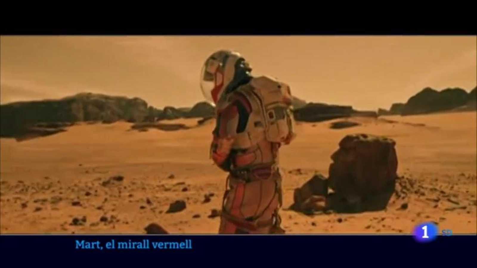 Mart aterra al CCCB i s'instal·la com a mirall de la humanitat