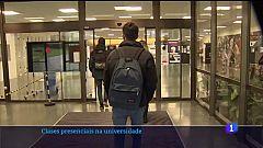 As universidades galegas recuperan as clases presenciais