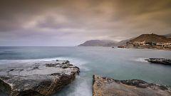 Intervalos de viento fuerte en el Estrecho, litoral de Andalucía oriental y Melilla
