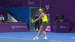 Tenis - WTA Torneo Doha: K. Bertens - J. Ostapenko