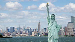 La estatua de la Libertad. El gigante francés