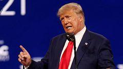 Trump reaparece para amagar con volver a presentarse a las elecciones
