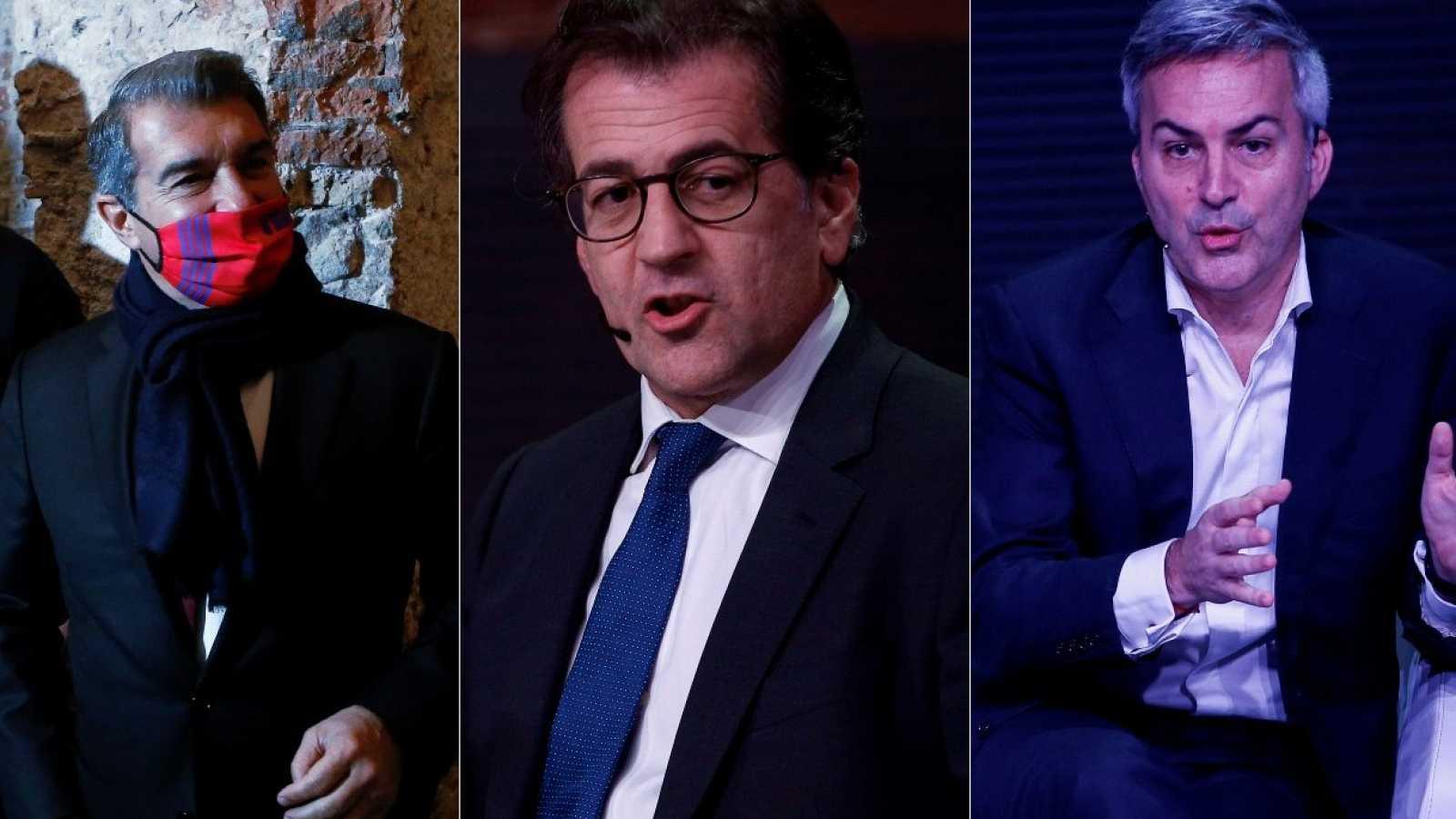 """Los candidatos a la presidencia del FC Barcelona, sobre la detención de Bartomeu:""""Es un día triste para el club"""""""