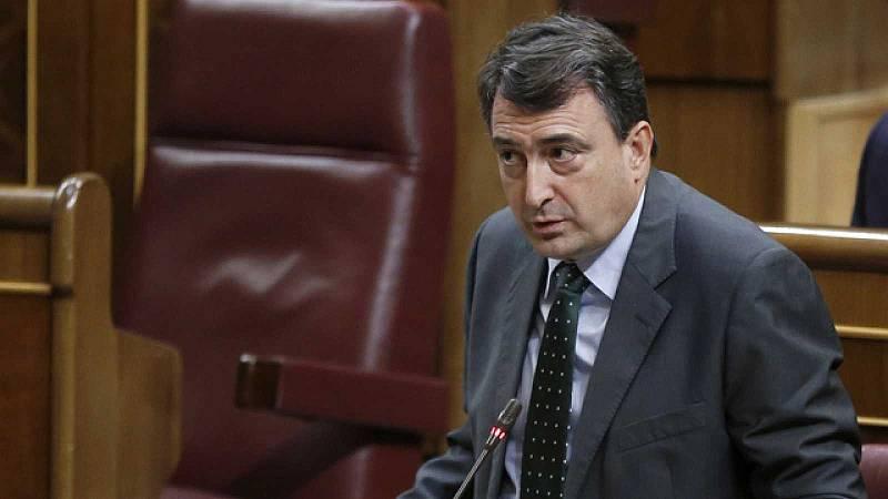 """Aitor Esteban (PNV): """"Para poder hablar de democracia plena el rey emérito debe explicar de dónde sacó la fortuna"""""""