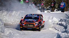 WRC - Campeonato del Mundo. Rally del Ártico. Resumen