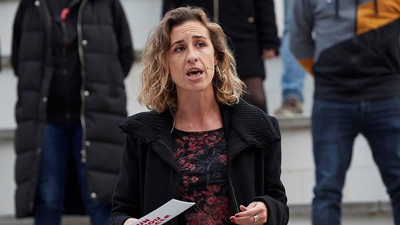 """Laia Estrada (CUP) pide fijarse en las causas de los disturbios: """"Lo que genera un clima violento son actuaciones policiales desproporcionadas"""""""