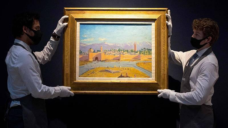 El cuadro que Winston Churchill pintó, para regalárselo a Roosvelt, se ha subastado por más de 9 millones de euros