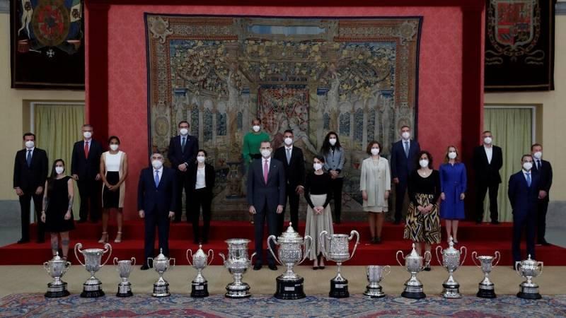 Valverde y Pastrana recogen los principales Premios del Deporte