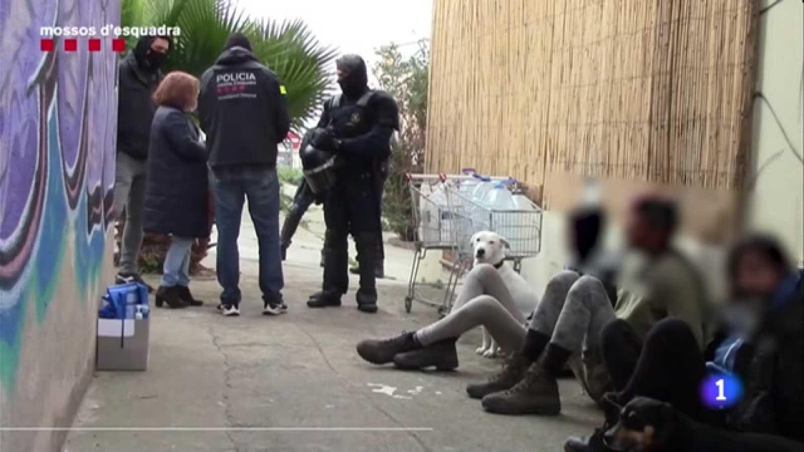"""Vuit dels detinguts pels aldarulls de dissabte formaven un grup """"violent i organitzat"""" que els Mossos han desarticulat"""