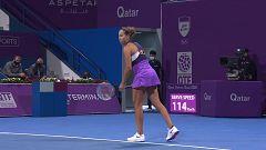Tenis - WTA Torneo Doha: M. Keys - B. Bencic