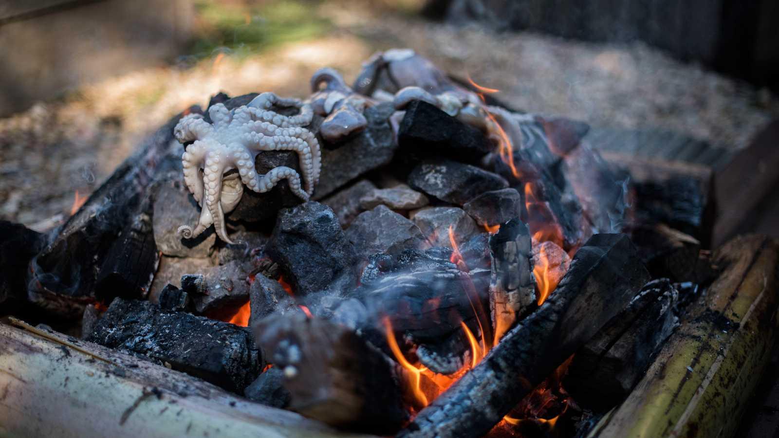 Otros documentales - Expedición culinaria. Cocinar con fuego: Expedición barbacoa - ver ahora