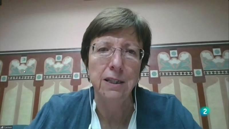 """Carmen Cabezas: """"El Regne Unit està obtenint bons resultats amb una dosi de la vacuna"""""""