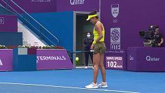 Tenis - WTA Torneo Doha: Q. Wang - J. Pegula