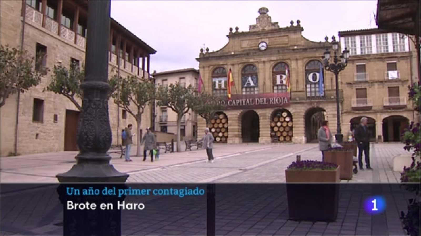 Un año del primer contagiado en La Rioja