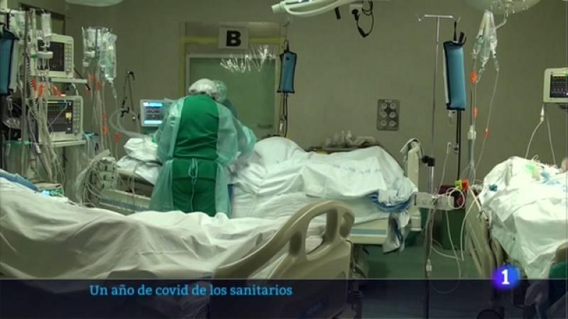 Los sanitarios riojanos hacen balance del primer año de la pandemia