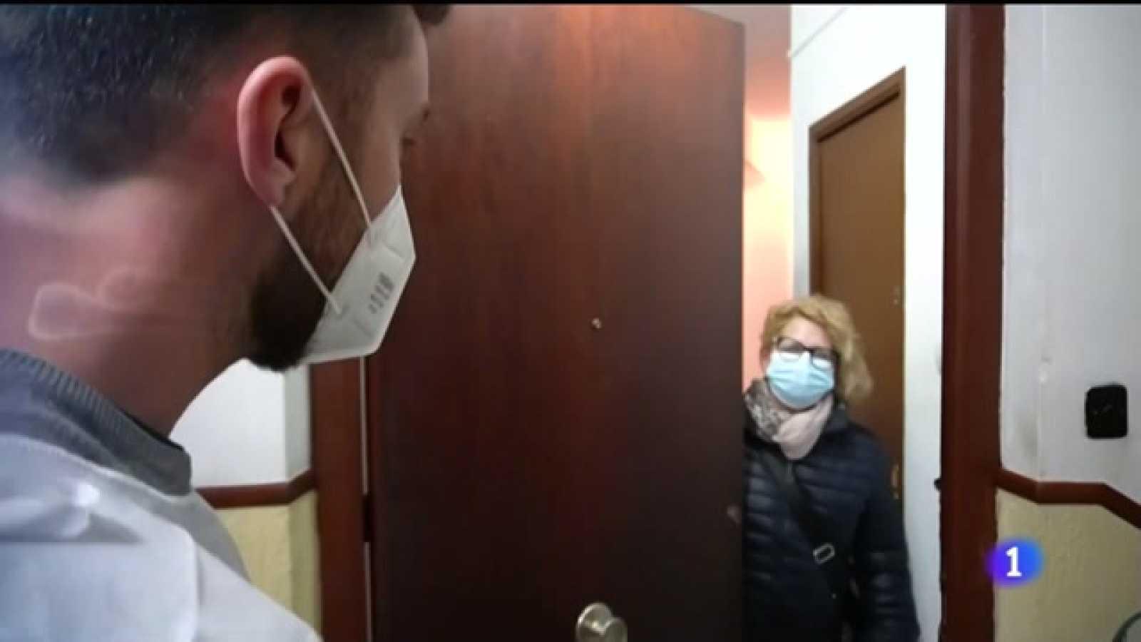 Video explicando que se inicia la vacunación de grandes dependientes