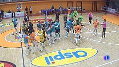 El Tudela - Jaén de fútbol sala acaba a golpes