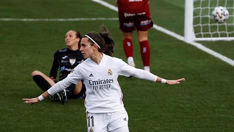 Así han sido los goles de marta Cardona y Ubogagu en el Real Madrid- EDF Logroño