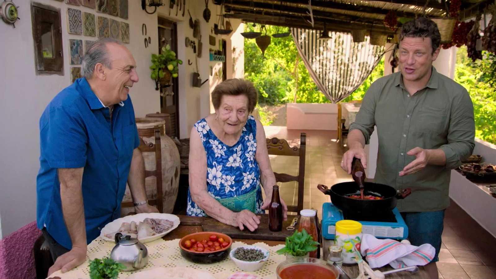 Otros documentales - Jamie cocina en Italia: Islas Eolias - ver ahora