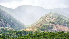Lluvias dispersas en amplias zonas de la Península y en Baleares
