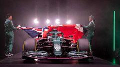 Las escuderías de F1 enseñan sus colores: del azul Alpine de Alonso al verde de Aston Martin
